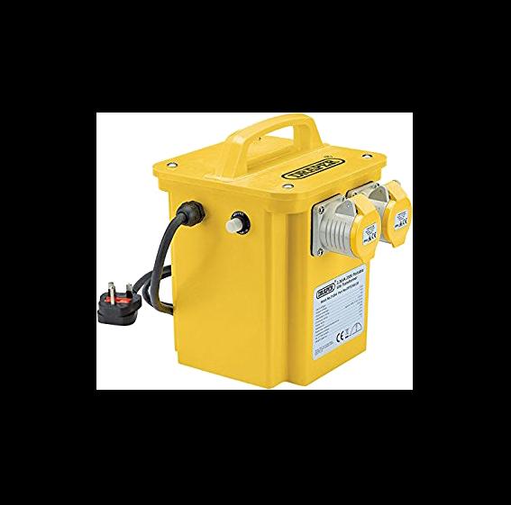 draper power tool transformer